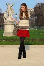 Zara skirt - Isabel Marant boots