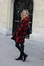 Stuart-weitzman-boots-red-isabel-marant-coat-chanel-bag