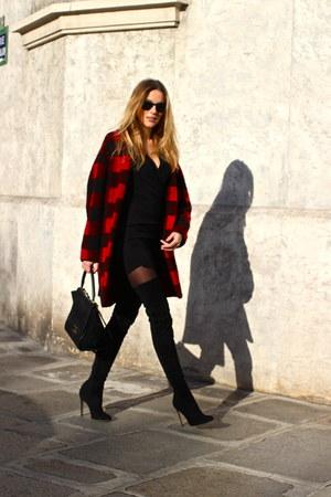 Gianvito Rossi boots - Isabel Marant coat - Celine bag