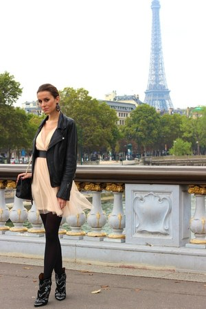 Chanel bag - Isabel Marant boots - asos dress