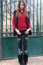 Isabel Marant boots - black Isabel Marant jeans