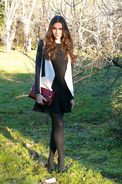 SANDRO dress - Christian Louboutin heels