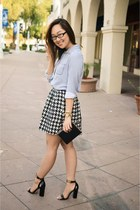 Target skirt - Nordstrom purse - Topshop heels