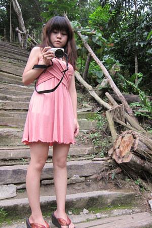 pink Pazzo dress