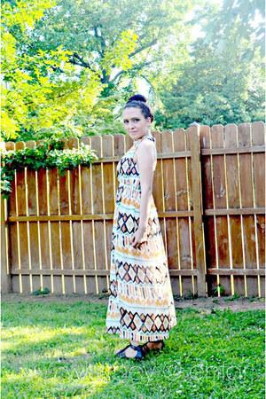 peach OASAP dress