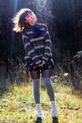 Brown-vintage-sweater-black-target-skirt-ivory-vintage-shoes-navy-vintage-