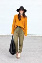 olive green H&M pants