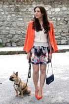 carrot orange H&M blazer
