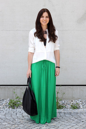green Vila skirt