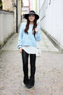 Sky-blue-choies-jumper