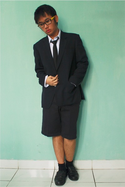 black unbranded blazer