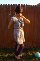 Converse dress - xhiliration leggings - Roxy flats - faded glory cardigan
