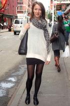 H&M Trend sweater - Steve Madden shoes - H&M scarf - Samse&Samse dress