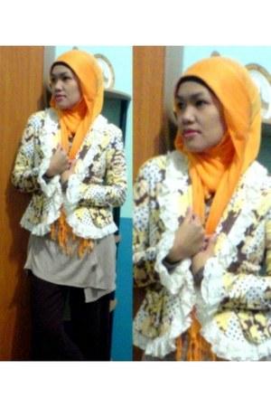 Pashmina scarf - pants