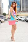 Pink-femmex-bag-hot-pink-pinkaholic-top-nude-forever-21-heels
