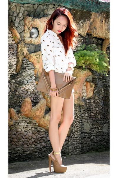 white Ahai blouse