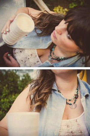 wild iris studio necklace