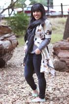 beige floral print Phillip Lim x Target jacket