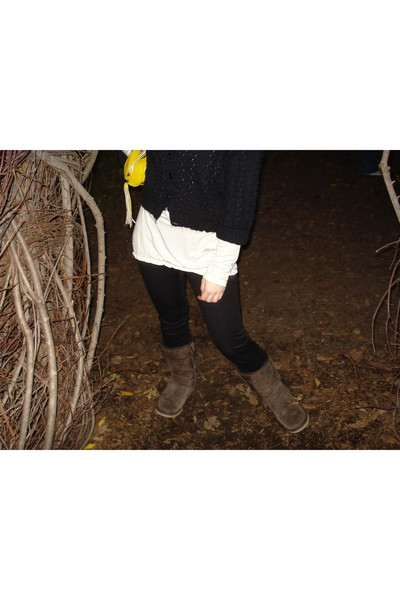 No name Street Vendor sweater - blouse - Urban Outfitters pants - Ugg Australia