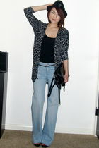 goldsign jeans - BCBG shoes - American Apparel shirt - Nordstrom purse