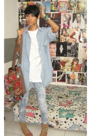 Zara shirt - DC comics t-shirt - Mango jeans - Zara shoes - Zara accessories - U