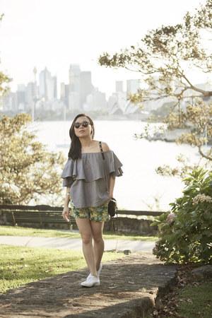 AddTension bracelet - Rebecca Minkoff bag - Glassons shorts