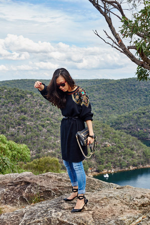 AddTension ring - Zara jeans - Rebecca Minkoff bag - Celine sunglasses