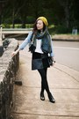 Leather-ankle-topshop-boots-sportsgirl-hat-zara-scarf