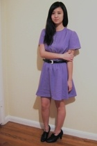 dress - vintage belt - payless shoes - accessories