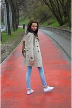 Sinsay shoes - Bershka jeans - Zara jacket - reserved sweater