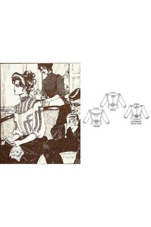 ivory lace blouse - black skirt