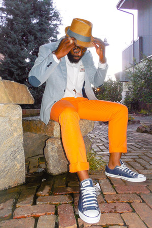 H&M blazer - H&M shirt - Macys pants