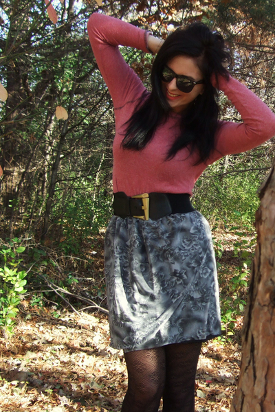 Urban Outfitters shirt - skirt - Urban Outfitters tights