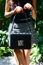 White-market-find-shorts-black-louis-vuitton-purse