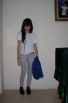 t-shirt - DSquared jeans - baleno jacket - Endorse boots - bracelet