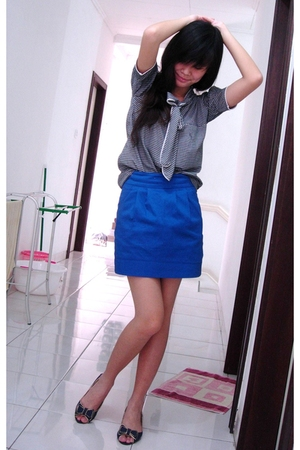 shirt - skirt - Gaudi shoes