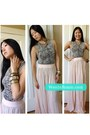 Pink-maxi-skirt-5-48-skirt-h-m-necklace-snakeskin-top-express-top