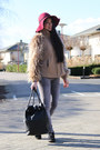 Desert-boots-clarks-shoes-floppy-hat-diy-the-sting-hat-faux-fur-zara-jacket