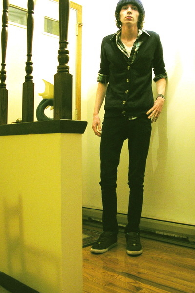 blue cardigan unknown sweater - brown reynold 3s EMERICA shoes