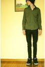 Green-dkny-shirt