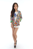 blazer floral SolaceChiks blazer