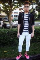 white Topman jeans