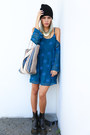 Black-boots-tuk-shoes-boots-navy-gentle-fawn-dress