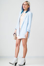 White-nasty-gal-boots-light-blue-forever-21-blazer