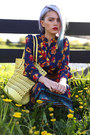 Navy-mart-of-china-dress-yellow-laser-cut-tote-streetlevel-bags-bag