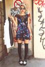 Black-betsey-johnson-dress