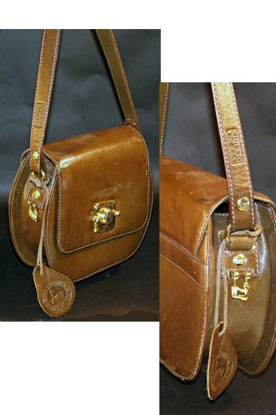 brown Rinbow Duck bag