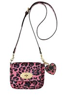 hot pink bag - black body bag bag - black bag - hot pink bag