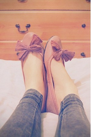 pink pink shoes