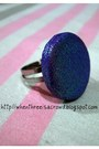 Purple-glitter-ring